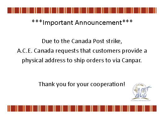 Canada Post strike in effect. Shipping to physical addresses only.
